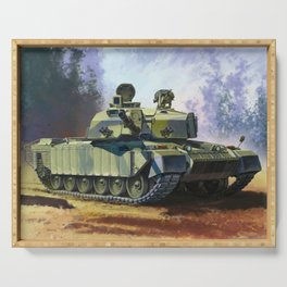 Challenger Tank Serving Tray