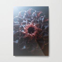 Fleshy Metal Print