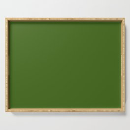Tropical Jungle Green Serving Tray