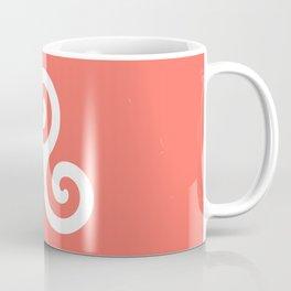 Triskele 9 -triskelion,triquètre,triscèle,spiral,celtic,Trisquelión,rotational Coffee Mug