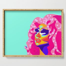QUEEN TRIXIE MATTEL Serving Tray