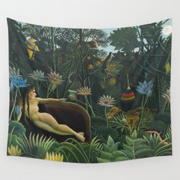 The Dream, Henri Rousseau Wall Tapestry