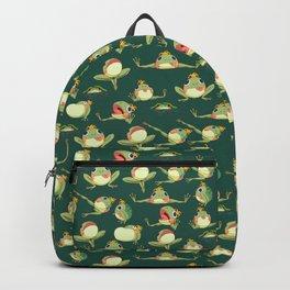 FROOOOOOOOOOOOWG PATTERN dark green Backpack