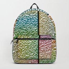 Pastel Rainbow Chrome Tiles Backpack