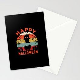Pomeranian Happy Halloween Stationery Cards