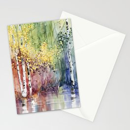 4 Season watercolor collection - summer Stationery Cards