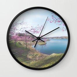 Beautiful Thing I Saw Today - Sakura Wall Clock