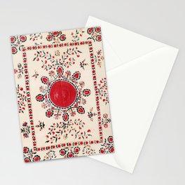 Tashkent Suzani Kokand Uzbekistan Embroidery Print Stationery Cards