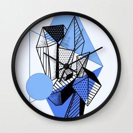 Crystal City Blue Moon Wall Clock