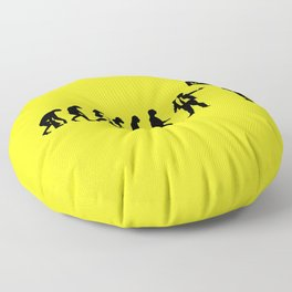 WTF? Evolution! Floor Pillow