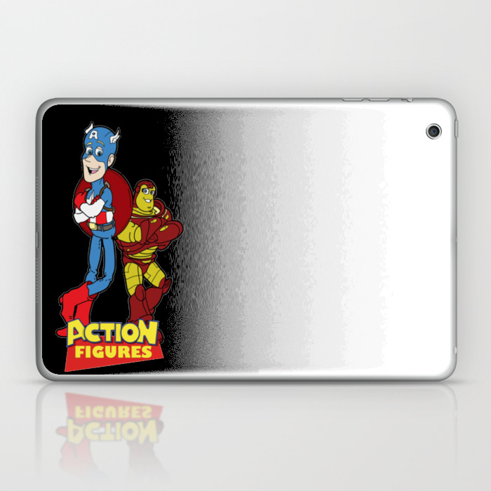 Action Figures Laptop & Ipad Skin by Vuduymy5927 LSK7754794