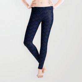 Blue sashiko Leggings