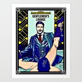 Gentlemen's Lounge Kunstdrucke