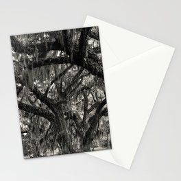 Live Oaks with Spanish Moss, Georgia Stationery Cards