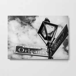 Orleans & Royal Metal Print