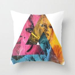 Bardot Throw Pillow