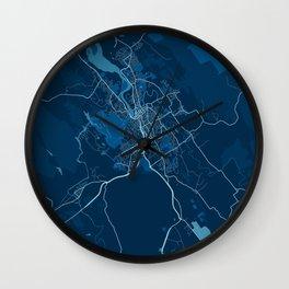Launceston - Australia Peace City Map Wall Clock