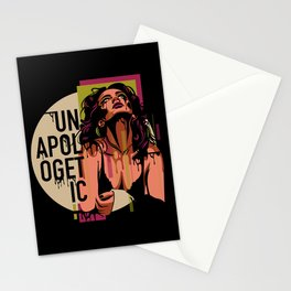 UNAPOLOGETIC Stationery Cards