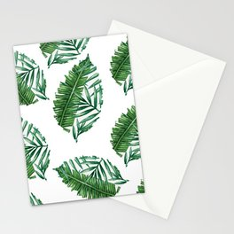 leaf print Stationery Cards