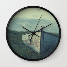row your boat Wall Clock