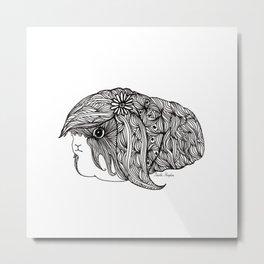 BEAUTIFUL GUINEA PIG Metal Print