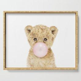 Bubble Gum Lion Cub Serving Tray