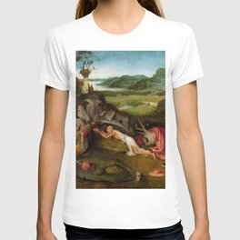 "Hieronymus Bosch ""Saint Jerome at prayer"" T-shirt"