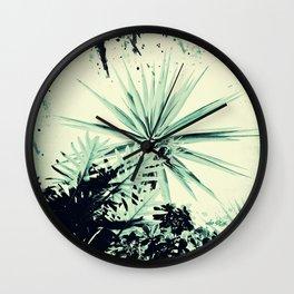 Abstract Urban Garden Wall Clock