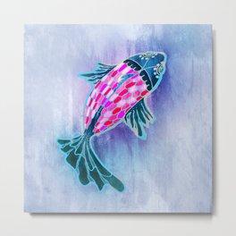 Fish Koi Metal Print