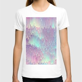 Iridescent Glitches T-Shirt