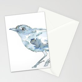 Nightingale Watercolor Sketch Stationery Cards