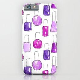 Nail Polish | Purple iPhone Case