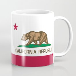 California Republic Flag - Bear Flag Coffee Mug