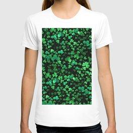 Evening Green Shamrocks T-shirt