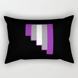 Graysexual Rectangular Pillow