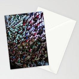 Love Padlocks Fence At Möhne Reservoir Stationery Cards