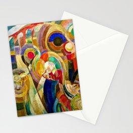 Marche au Minho (Market in Minho) by Sonia Delaunay Stationery Cards