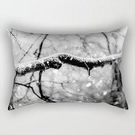 Old Linden Tree On A Rainy Day Of Autumn Rectangular Pillow