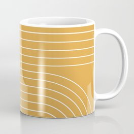 Minimal Line Curvature VIII Coffee Mug