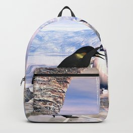Funny penguin Backpack