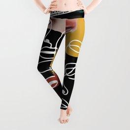 Manifesto Collage Leggings