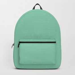 Summermint Green Streaky Hand Painted Watercolor Backpack