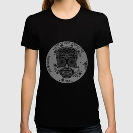 Sugar Skull Calavera design Gift for Mexican Decor Lovers T-shirt