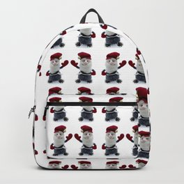 "Nordic Nisse Says ""Hello!"" Backpack"