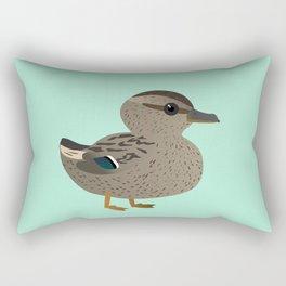 Cute female mallard Rectangular Pillow