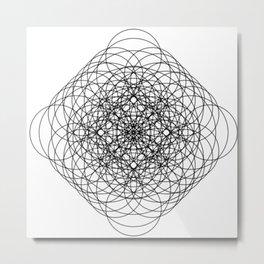 Circle Splendor 11 Metal Print