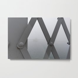 rhinestone raindrops Metal Print