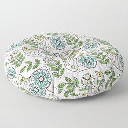 Mid Century Danish Bird Floor Pillow