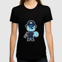 Pirate Squirrel treasure hunt pirates Gift T-shirt
