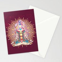 Balanced Chakras 1 Stationery Cards